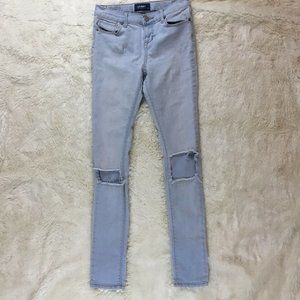 Old Navy Girls Distressed Light Wash Jeans Size 14